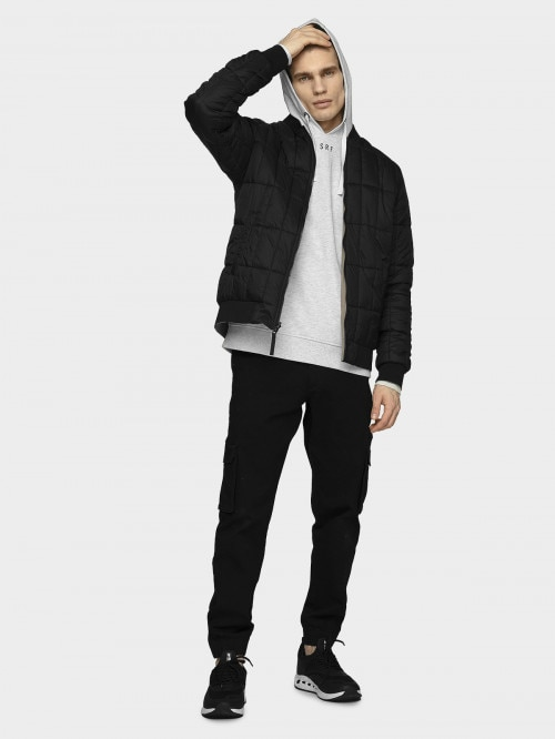 Men's double sided urban jacket