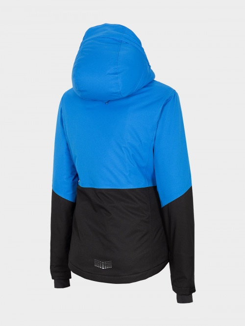 Women's ski jacket KUDN702 - blue