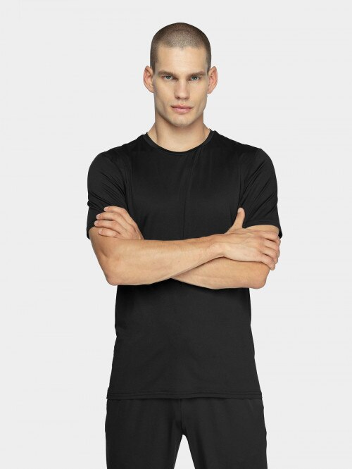 Men's active shirt TSMF600  deep black