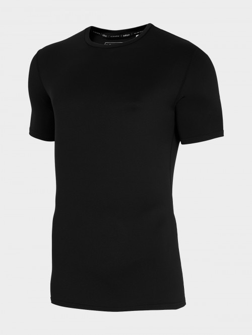 Men's active shirt TSMF600 - deep black