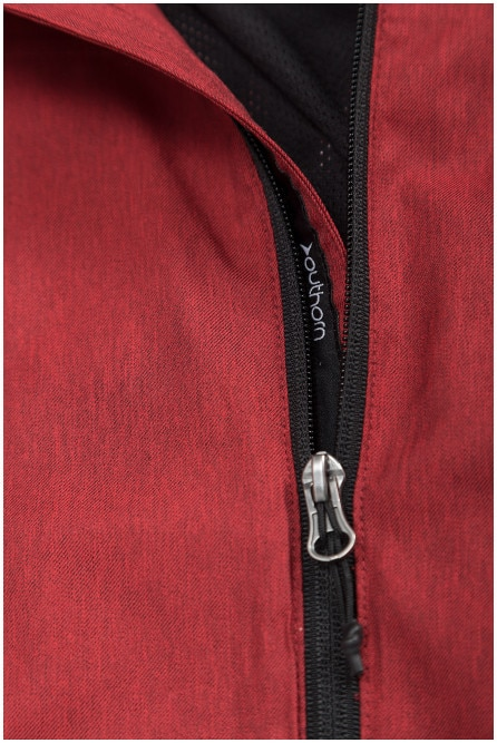 Men's functional jacket KUMT602 - red melange