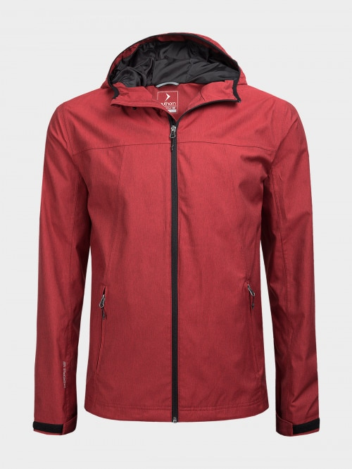 Men's functional jacket KUMT602  red melange