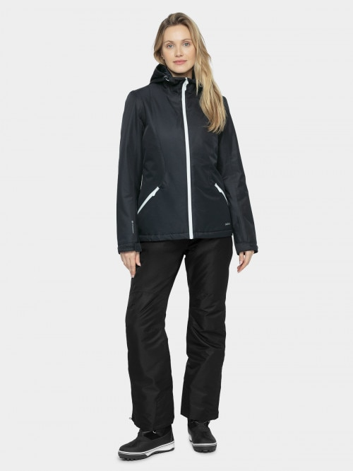 Women's ski jacket KUDN600 - dark blue