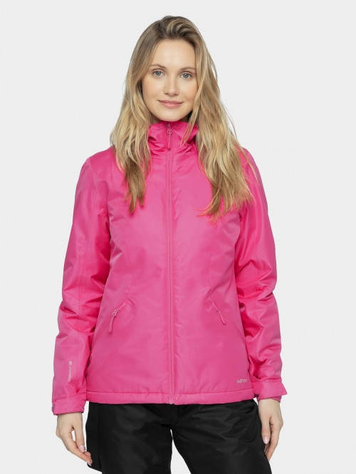 Women's ski jacket KUDN600  hot pink