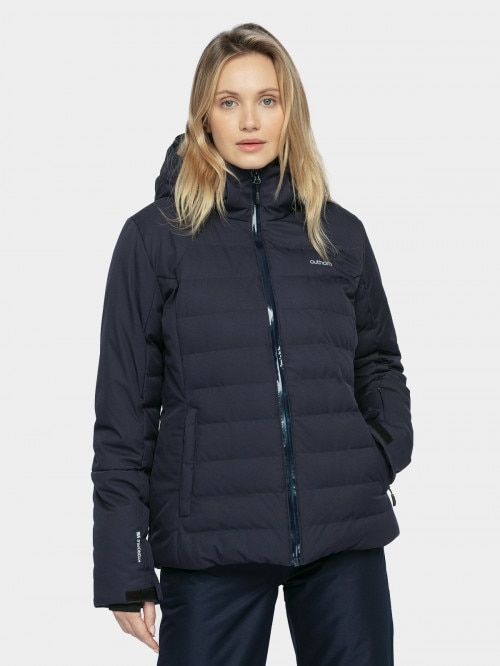 Women's ski jacket KUDN604  dark blue