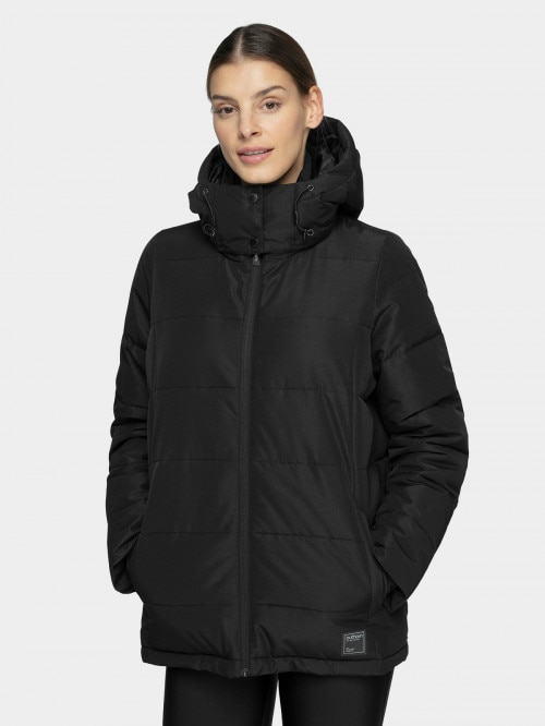 Women's down jacket KUDP603  deep black