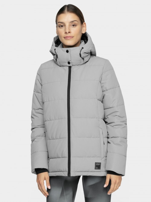 Women's down jacket KUDP603  grey