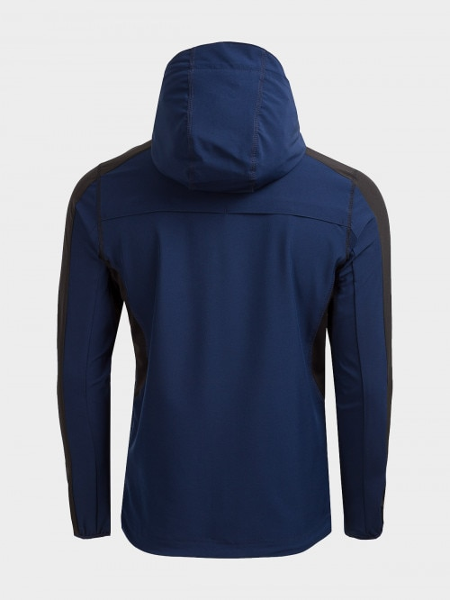 Men's active jacket KUMTR600 - navy