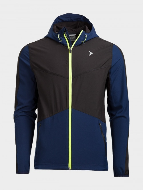 Men's active jacket KUMTR600  navy