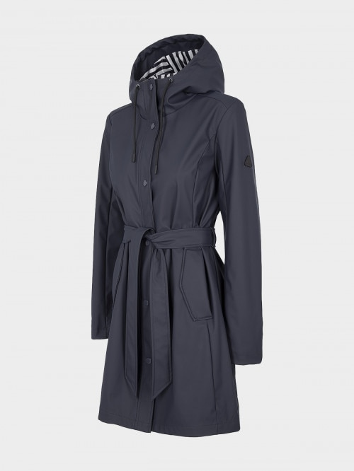 Women's urban coat KUD603 - navy