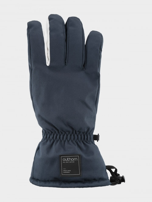 Men's ski gloves REM600  navy