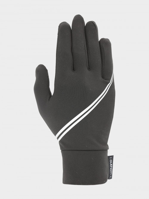 Unisex TouchScreen gloves REU602  deep black