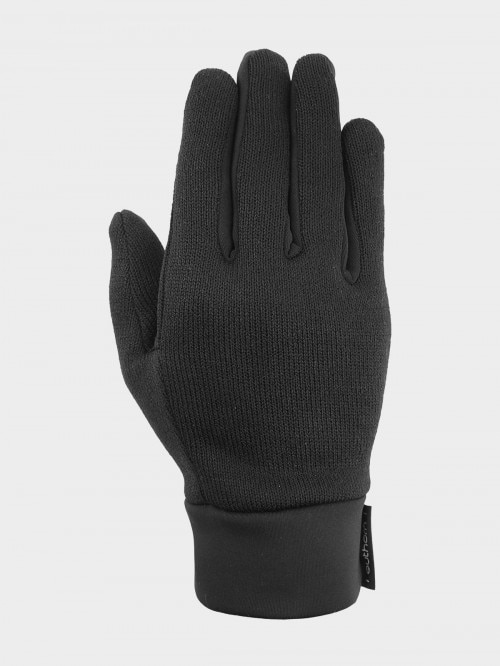 Unisex gloves REU601  deep black
