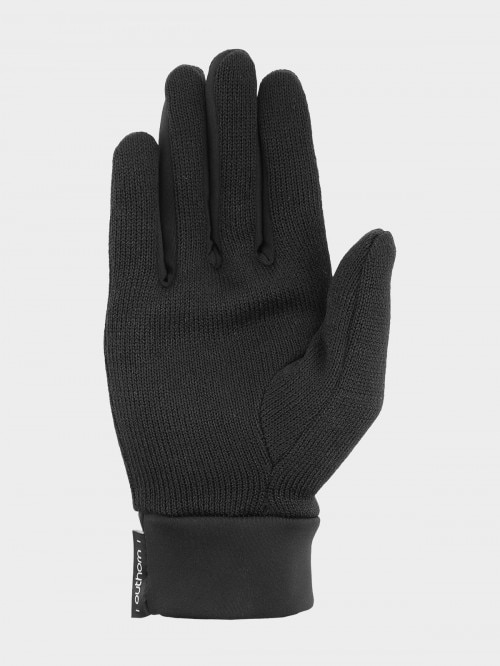 Unisex gloves REU601 - deep black