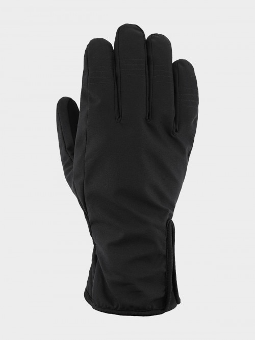 Unisex gloves REU604  deep black