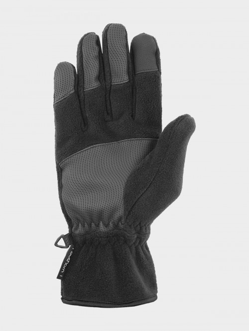 Unisex gloves REU605 - deep black
