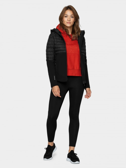 Women's softshell jacket SFD602 - deep black