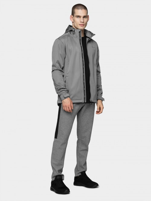 Men's softshell jacket SFM600  grey