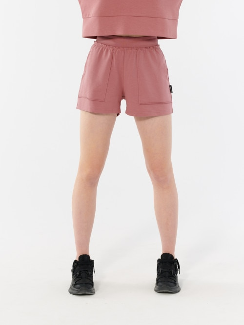 Women's knit shorts